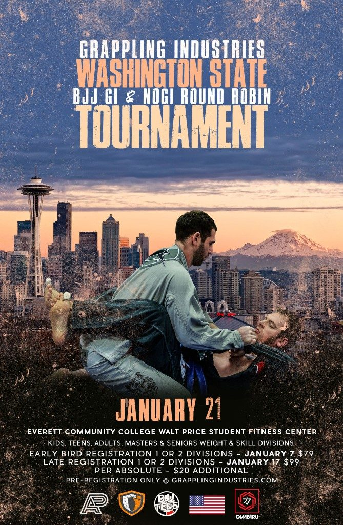 Grappling Industries Everett - BJJ Tournament 01/21/18